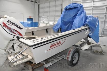 Boston Whaler Outrage-17 Fuel Bed - 5