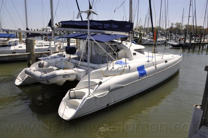 38' Fountaine Pajot, Electrical Panel Fire Damage - 1
