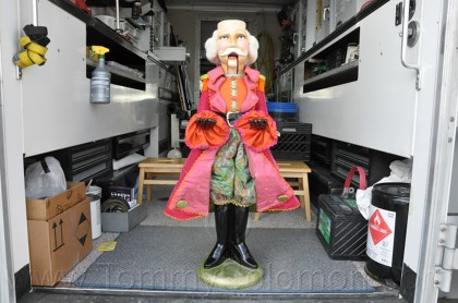 Nutcracker Fiberglass Repair & Paint - 78