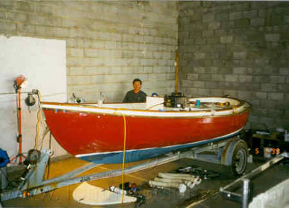 Sea Otter Deck Side Restoration (1998) - 1