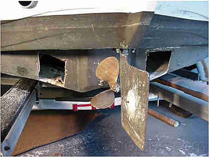 Sea Otter Hull Side Restoration (1999) - 1
