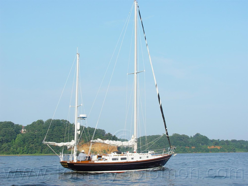 42 Wright Allied Yawl Rig (Sparkman-Stevens design) Hull 22 - 219