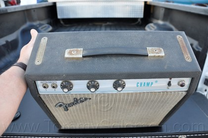 1975 Fender® Champ Amplifier - 1