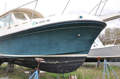 2003 Albin 28 Extreme Oxidation/Wet Sand & Buff - 1