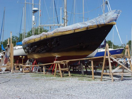 42 Wright Allied Yawl Rig (Sparkman-Stevens design) Hull 22 - 120