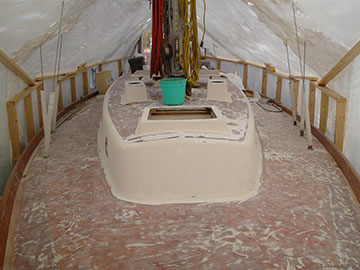 Yacht Restoration - Before